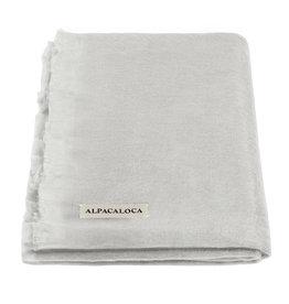 Alpacaloca Scarf Light Grey