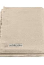 Alpacaloca Sjaal Beige