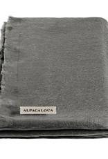 Alpacaloca Sjaal Donker Grijs