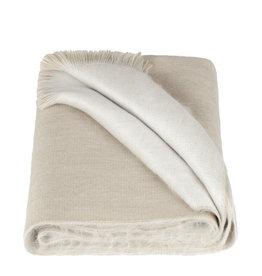 Alpacaloca Scarf Double Beige/White