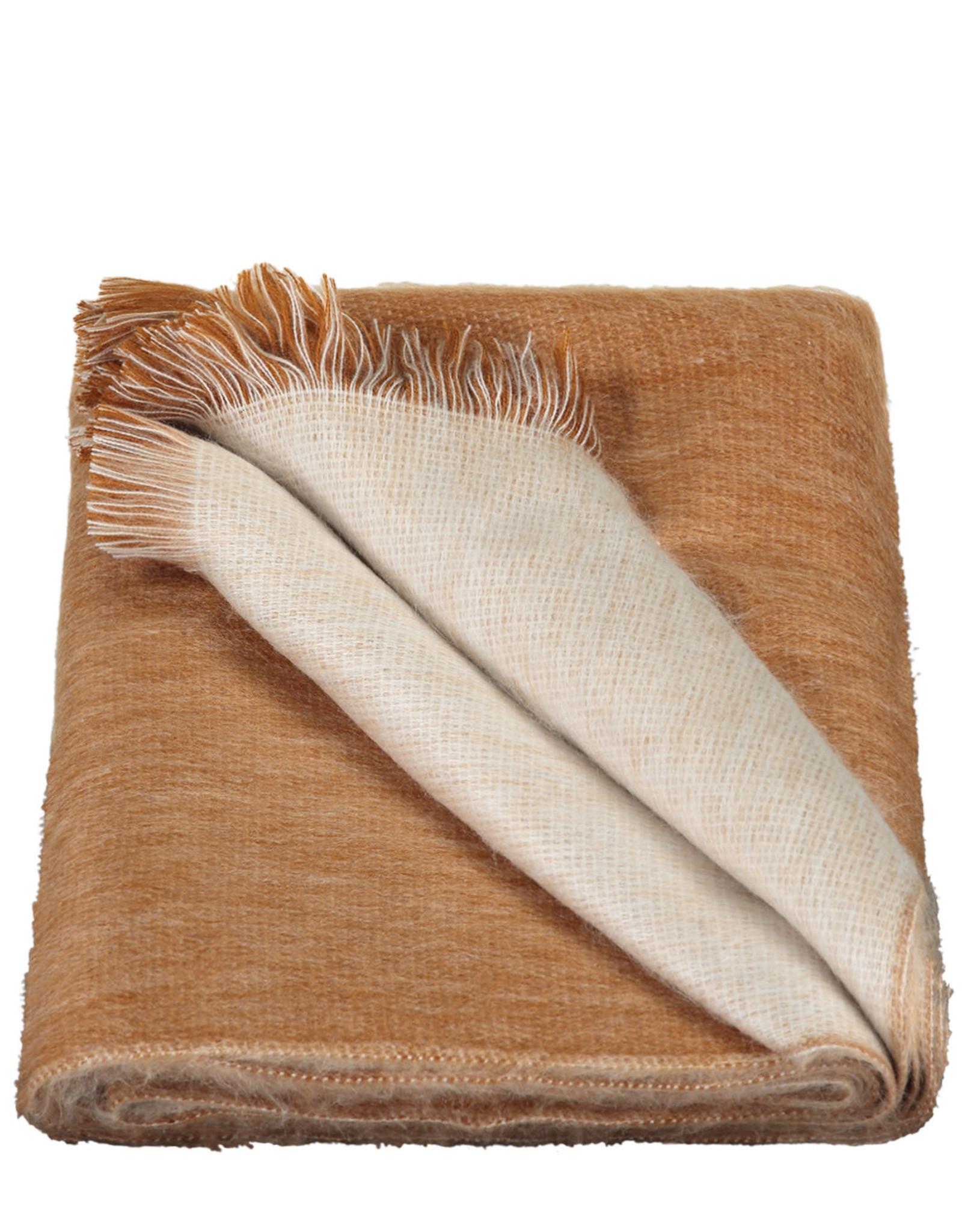 Alpacaloca Sjaal Dubbel Rusty/Naturel