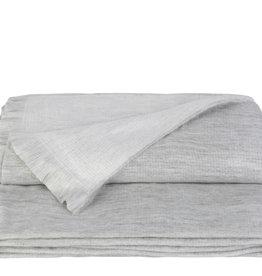 Alpacaloca Alpaca Plaid Double Grey/White