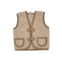 Alwero Bodywarmer Alpen junior duo  beige