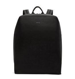 Matt&Natt rugzak Bremen zwart 15inch laptop