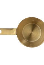 Bloomingville Maatbeker brass