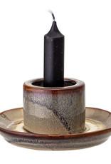Bloomingville Candlestick, Brown, Stoneware