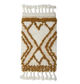 Bloomingville Rug Orange Wool
