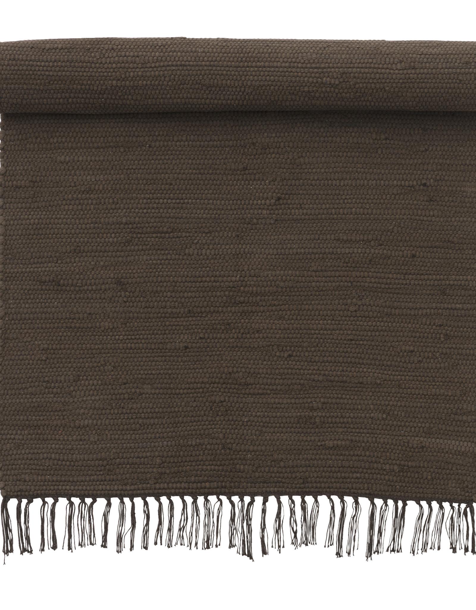 Bungalow Kleed Chindi Mat Chocolate - 70 x 130 cm