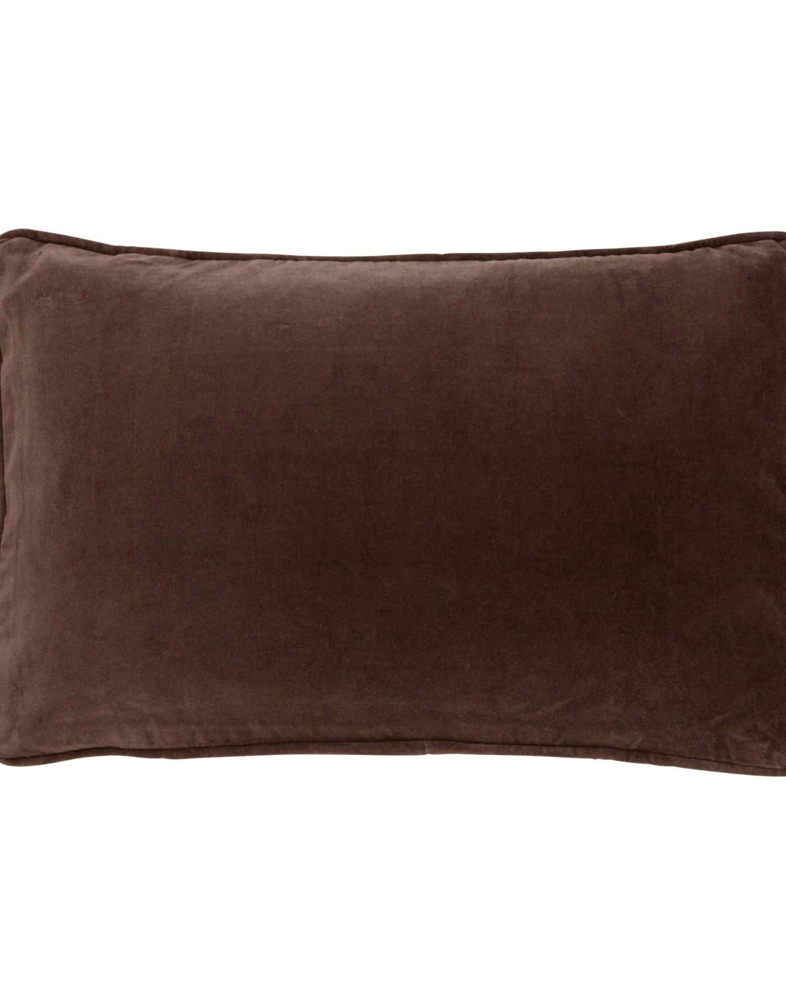 Bungalow Cushion Cover Chocolate - 33 x 50 cm