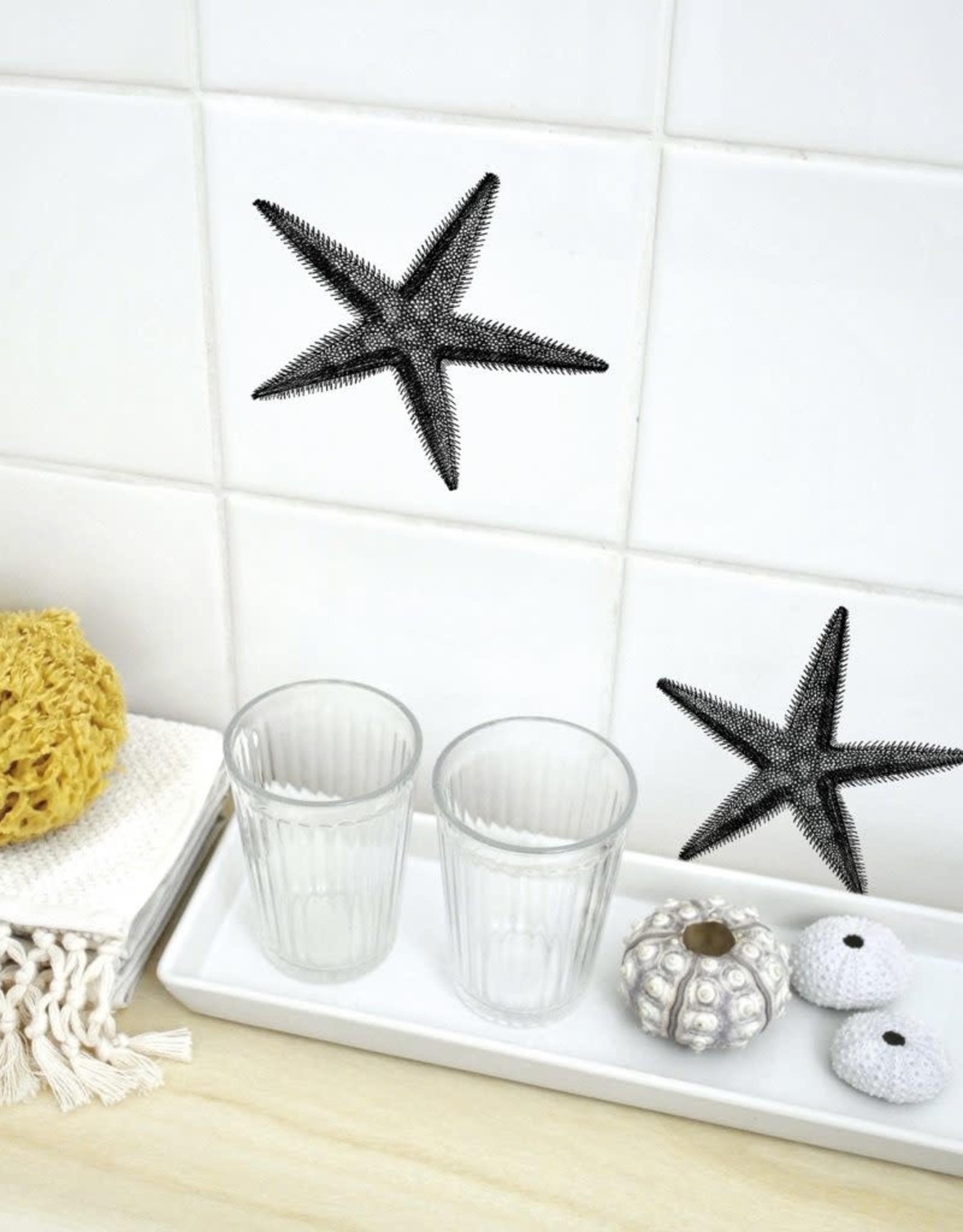 Boubouki Muur/Tegel Sticker Starfish