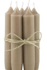 IBLaursen Korte kaars milky brown