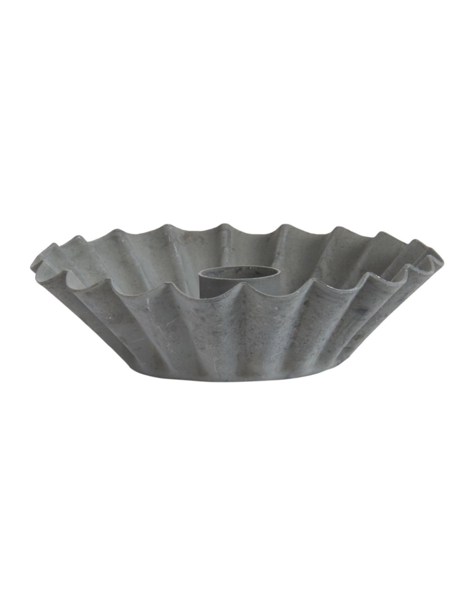 IBLaursen Kaarsenhouder zink taartje