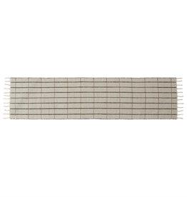 OYOY Vloerkleed / loper Grid 2 kanten