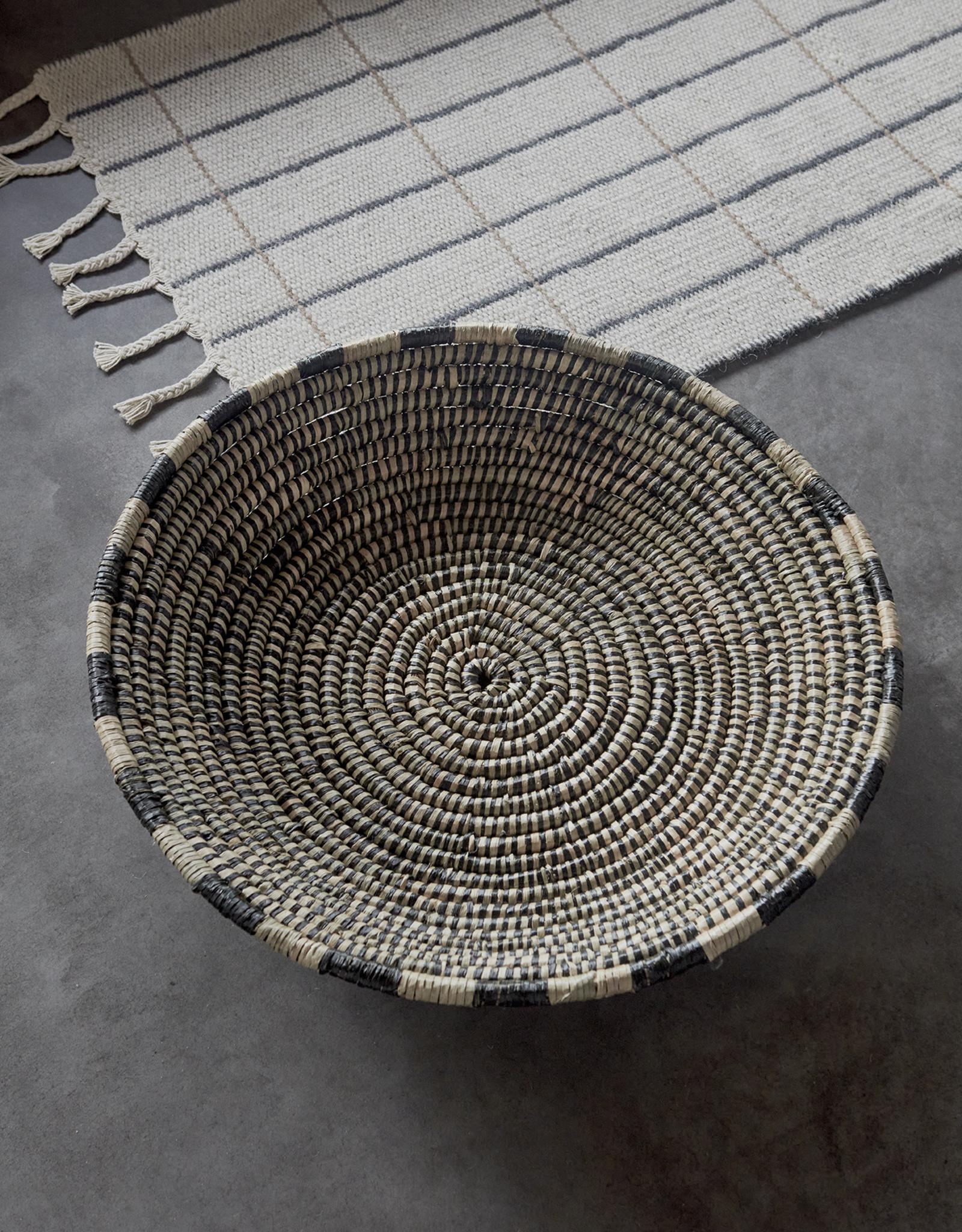 OYOY Vloerkleed / loper 'Grid'  2 kanten