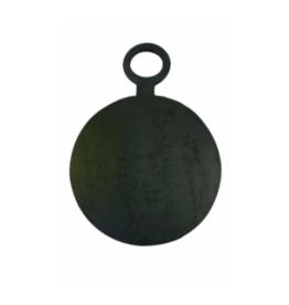 BeHome Zwart mangohouten serveerblad