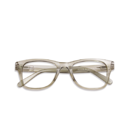 Leesbril Type C Olijf transparant