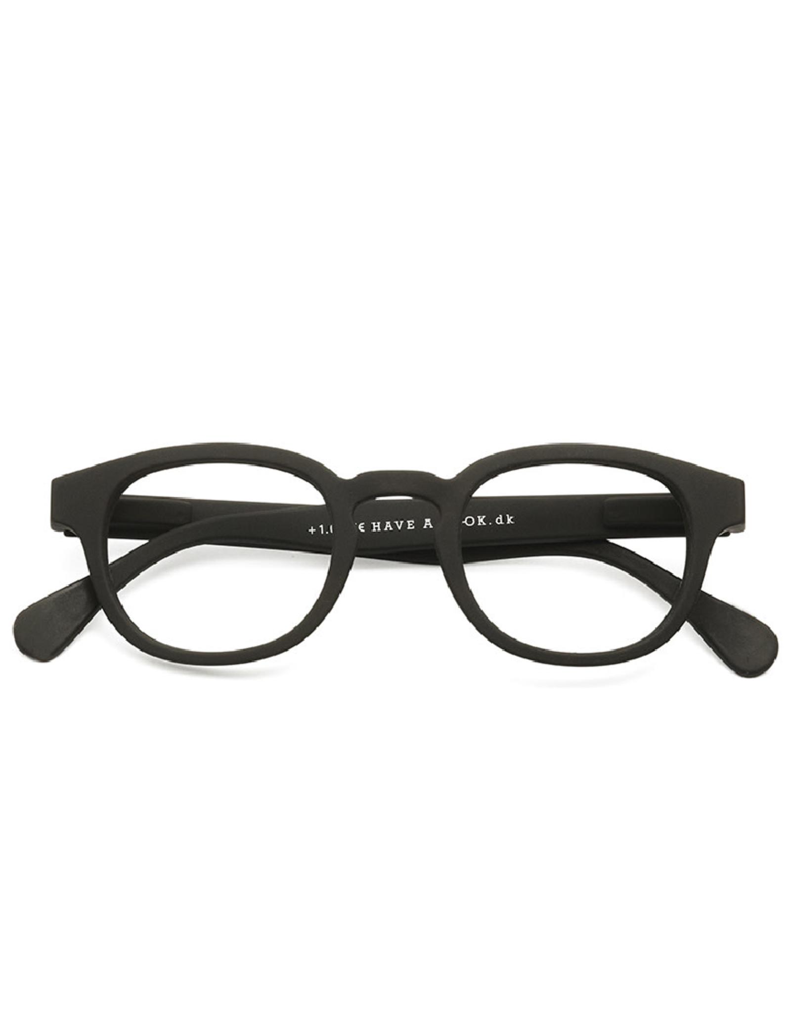 Leesbril Type C Zwart