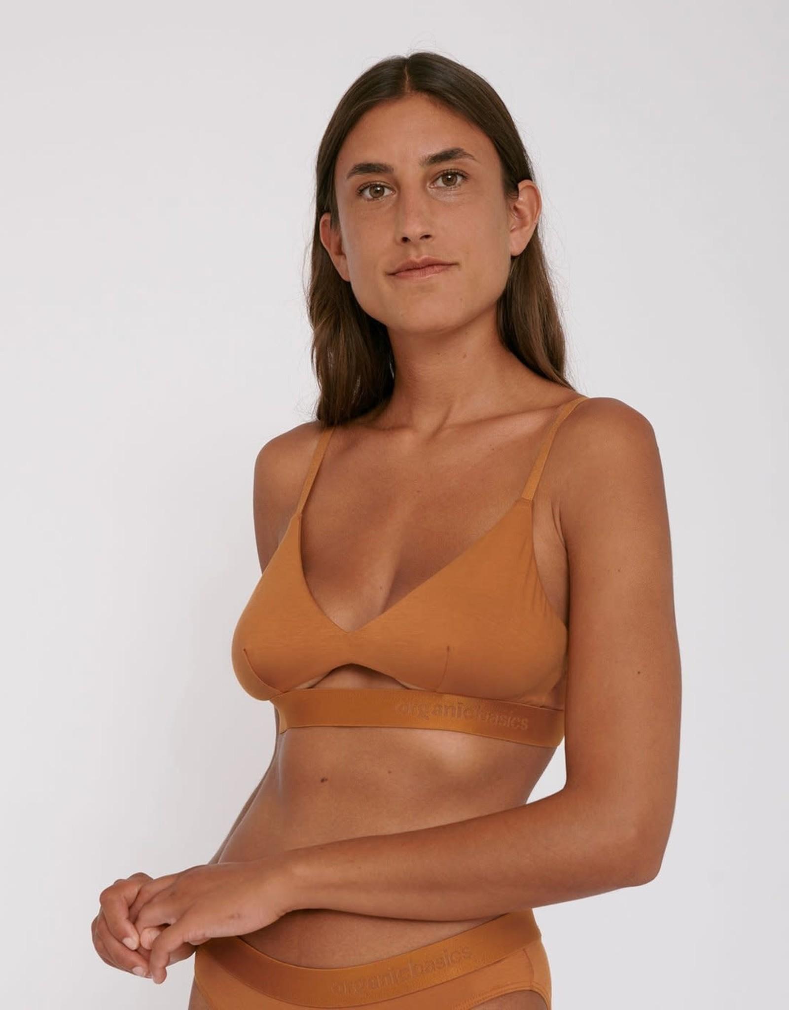 Organic Basics TENCEL Lite Bralette Ocher