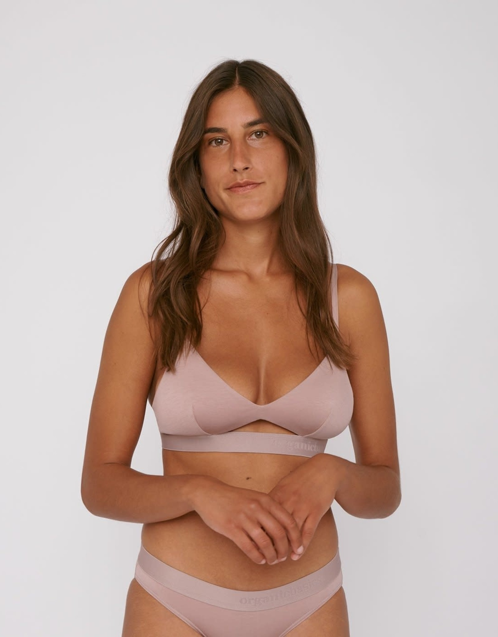 Organic Basics TENCEL Lite Bralette Dusty Rose