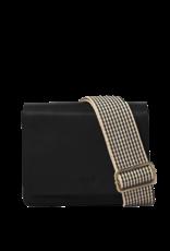 OMyBag Audrey Mini Classic Checkered Strap - zwart