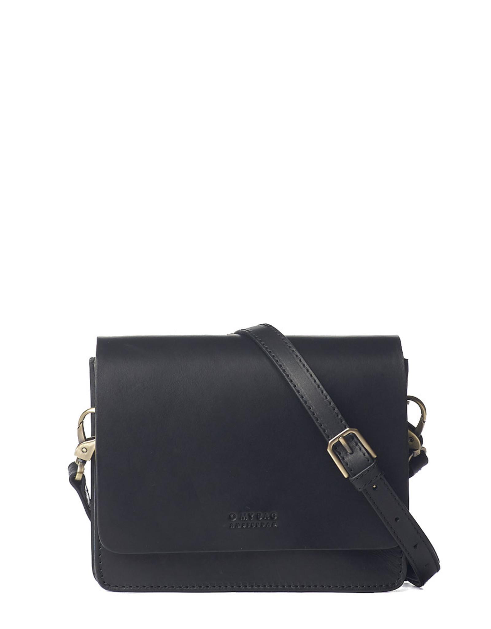 OMyBag Audrey Mini Classic Black Checkered Strap