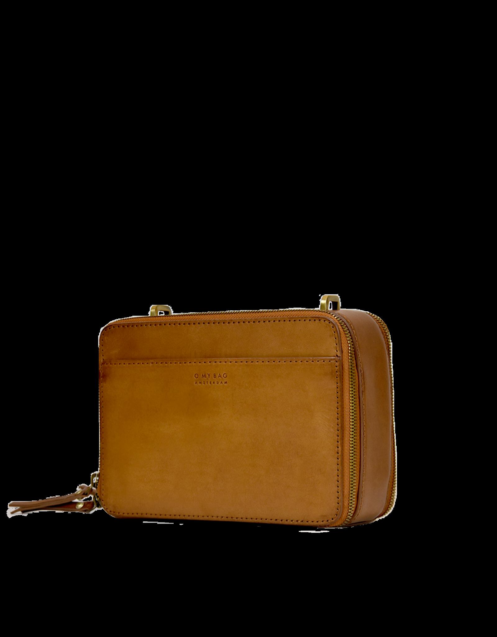OMyBag BEE'S BOX BAG Cognac Classic