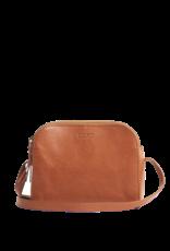 OMyBag Emily Cognac Stromboli Leather Full Leather Strap