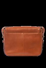 OMyBag Gina Cognac Classic Leather