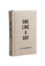 """Canvas 'One Line A Day"""""""