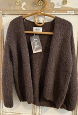 Inti Knitwear La Linda vest - Cafe