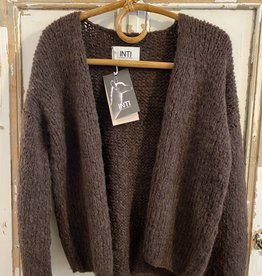 Inti Knitwear La Linda vest alpaca - Cafe