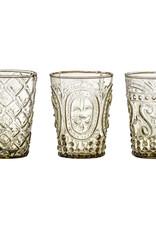 Bloomingville Lassi drinkglas bruin gerecycled glas