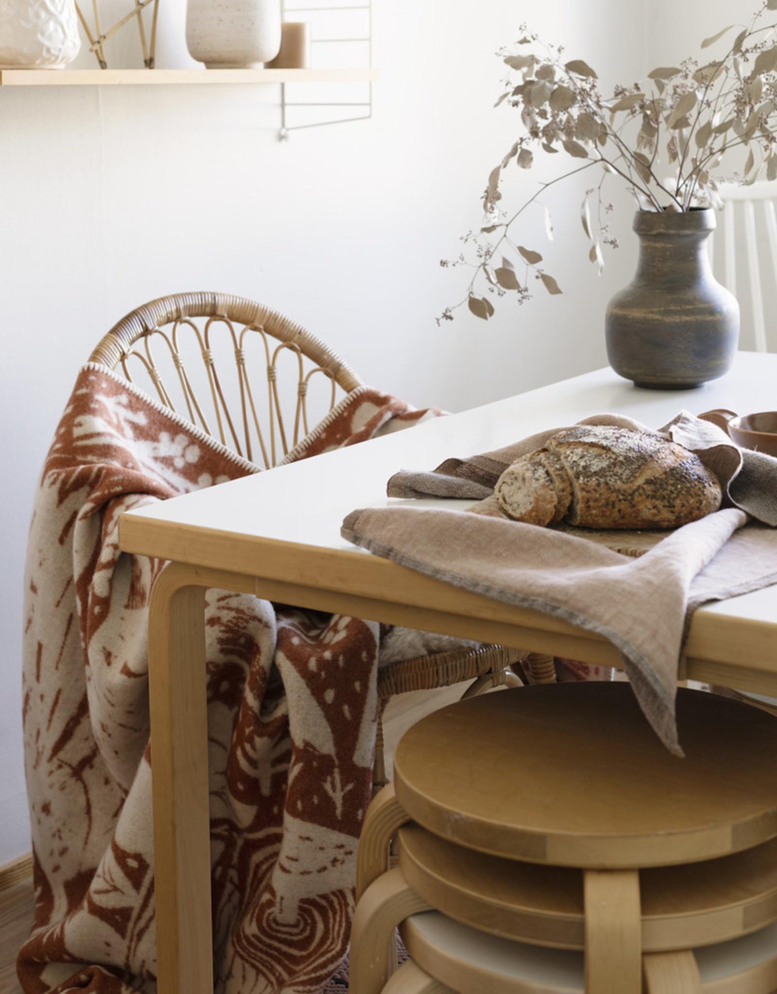 Lapuan Kankurit Metsikko wollen deken cinnamon