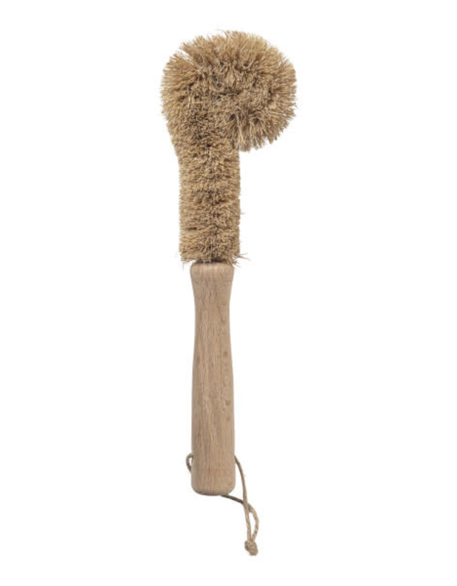Wellmark Afwasborstel Cup van hout & kokosvezel