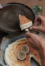 Yann plate L - Cream