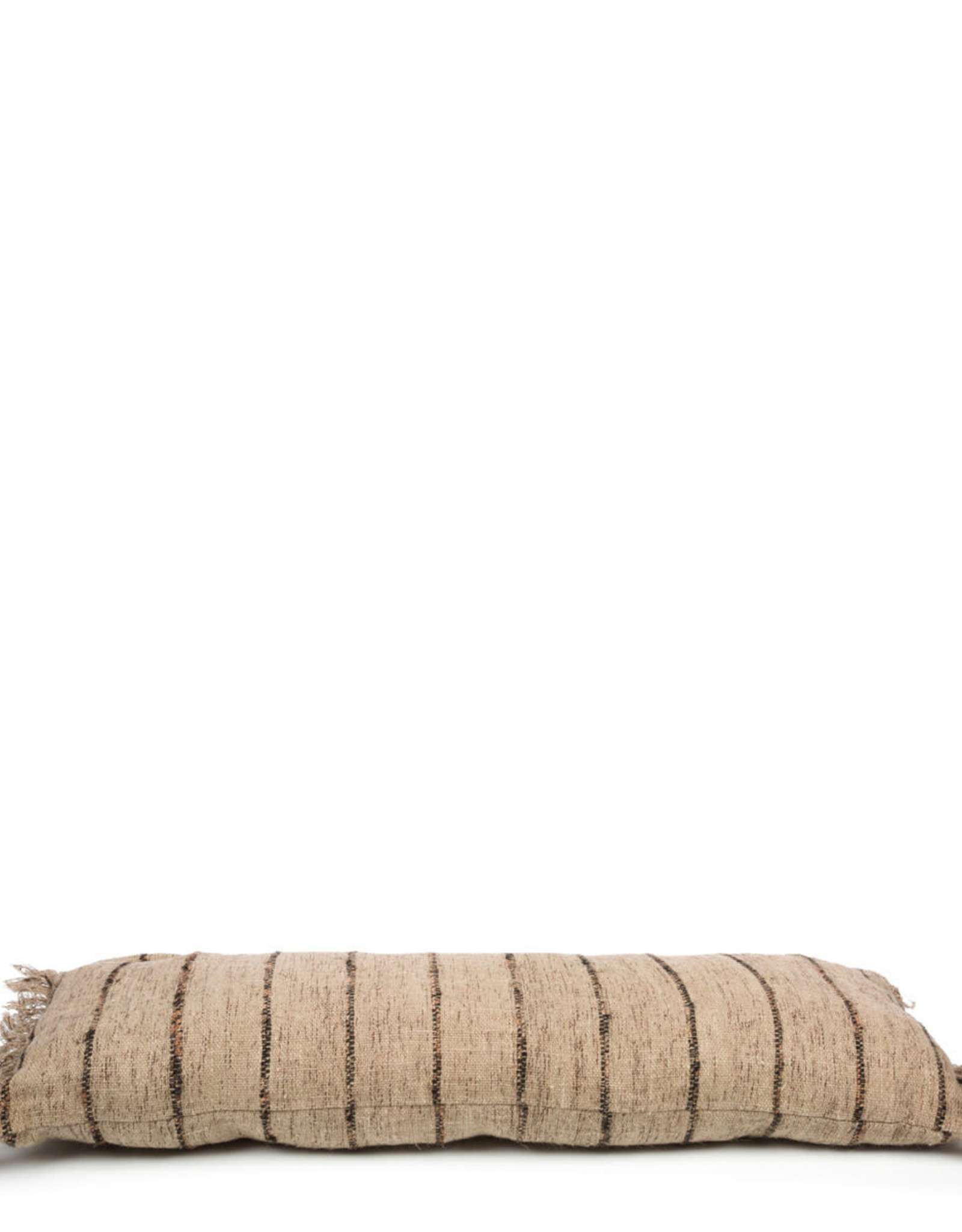 Bazar Bizar The Oh My Gee Cushion - Beige Black 35x100