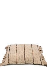 Bazar Bizar The Oh My Gee Cushion - Beige Black 40x40