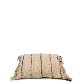Bazar Bizar The Oh My Gee Cushion - Beige Black 40x40
