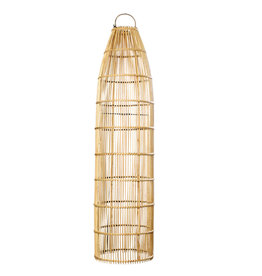 Bazar Bizar The Fish Trap Pendant - Naturel - L
