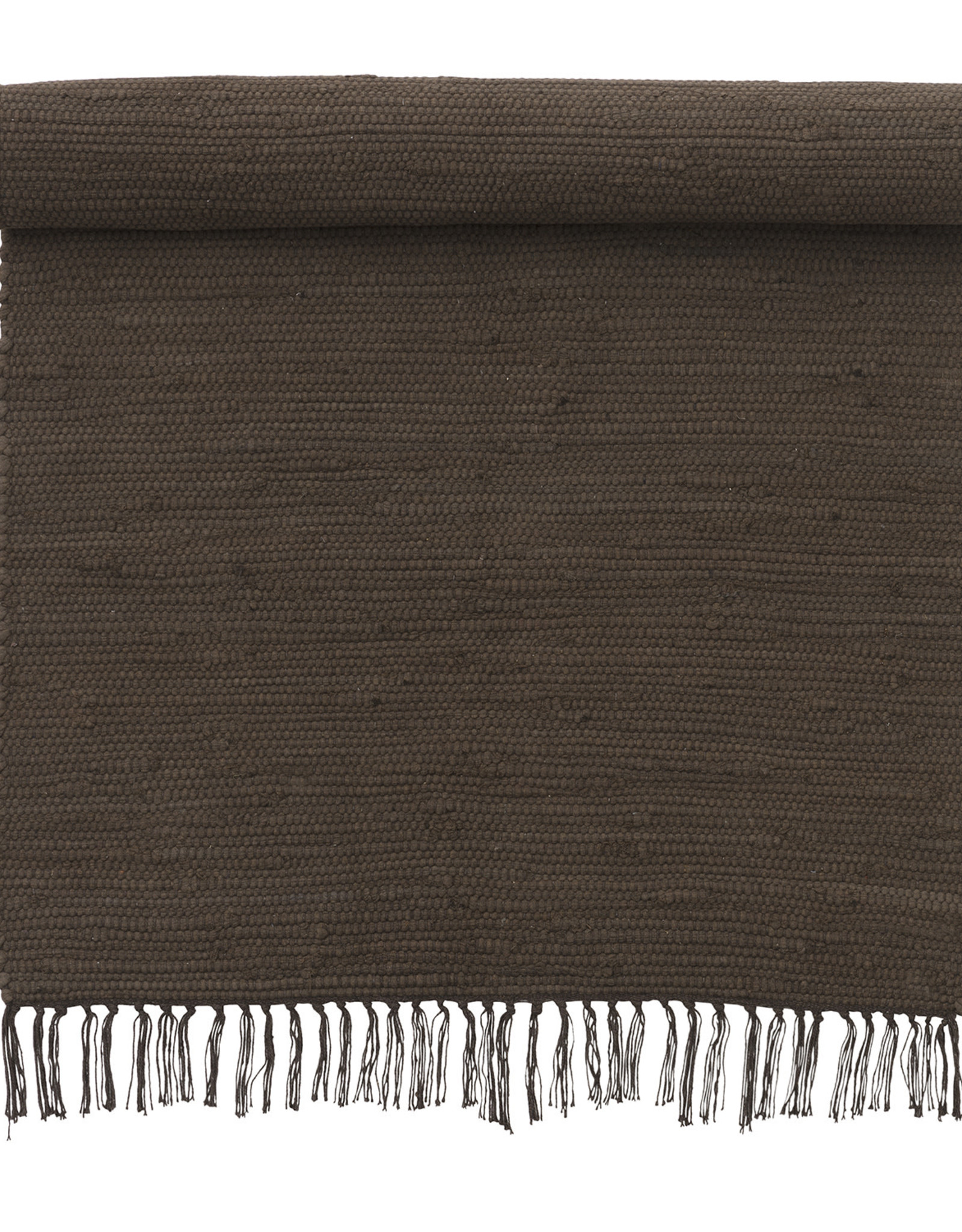 Bungalow Kleed  Chindi Mat Chocolate - 60 x 90 cm