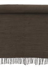 Bungalow Rug 60x90cm Chindi Mat Chocolate