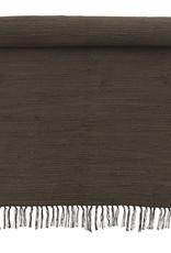 Bungalow Rug 75x250cm Chindi Mat Chocolate
