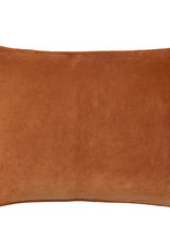 Bungalow kussenhoes velvet Red Ochre 50x70cm