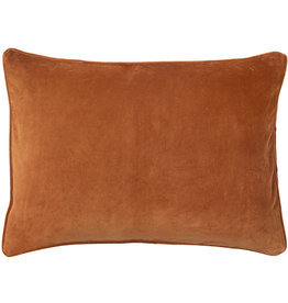 Bungalow kussenhoes velvet Red Ochre 50x70cm