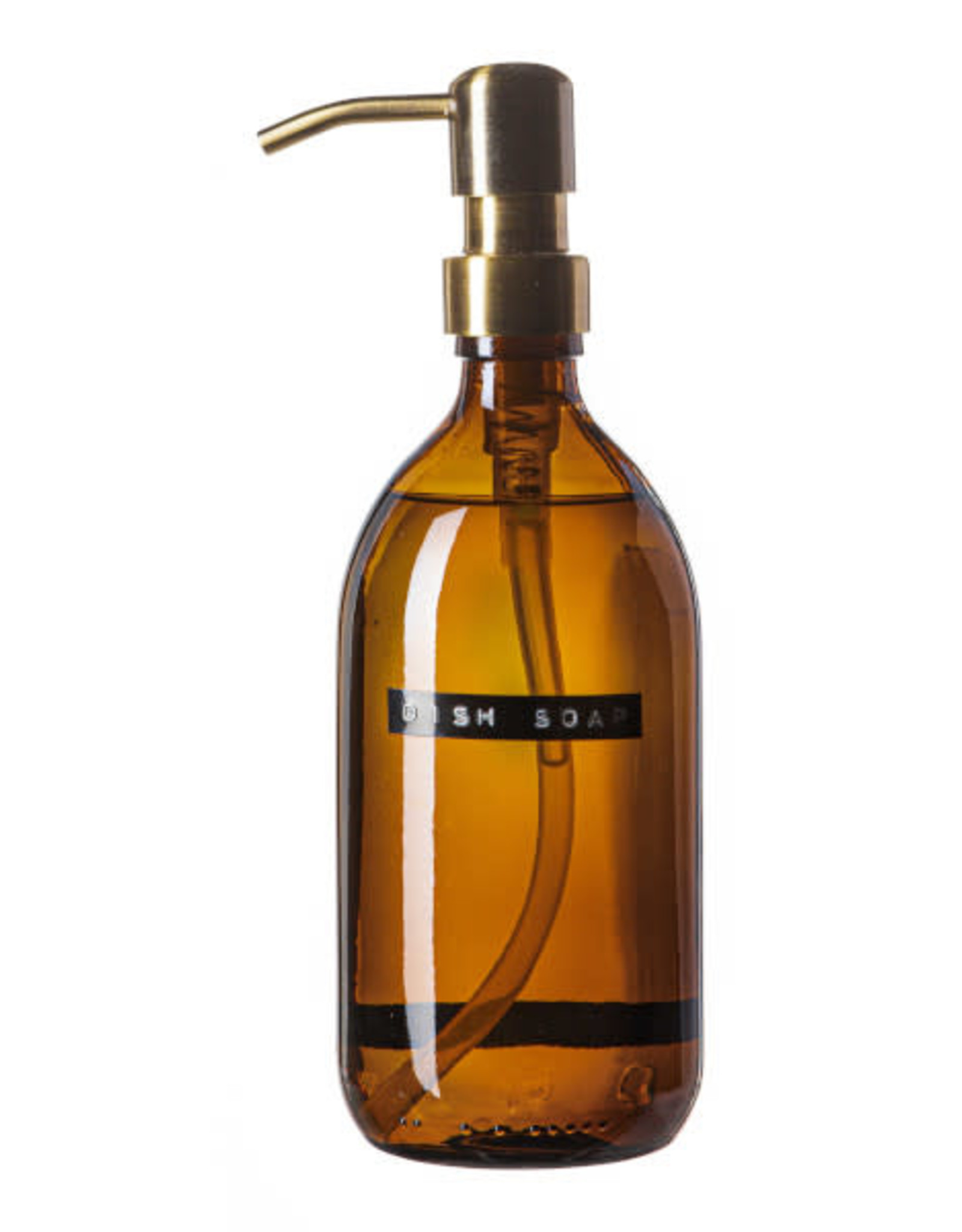 Wellmark Afwasmiddel  500ml  bruin glas / brass dop