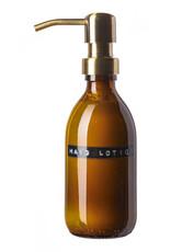 Wellmark Hand Lotion 250 ml - bruin glas / brass dop