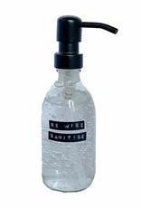 Wellmark Copy of Sanitiser bruin glas / brass