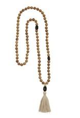 A Beautiful Story Gypsy Black Onyx Sandel Wood Necklace