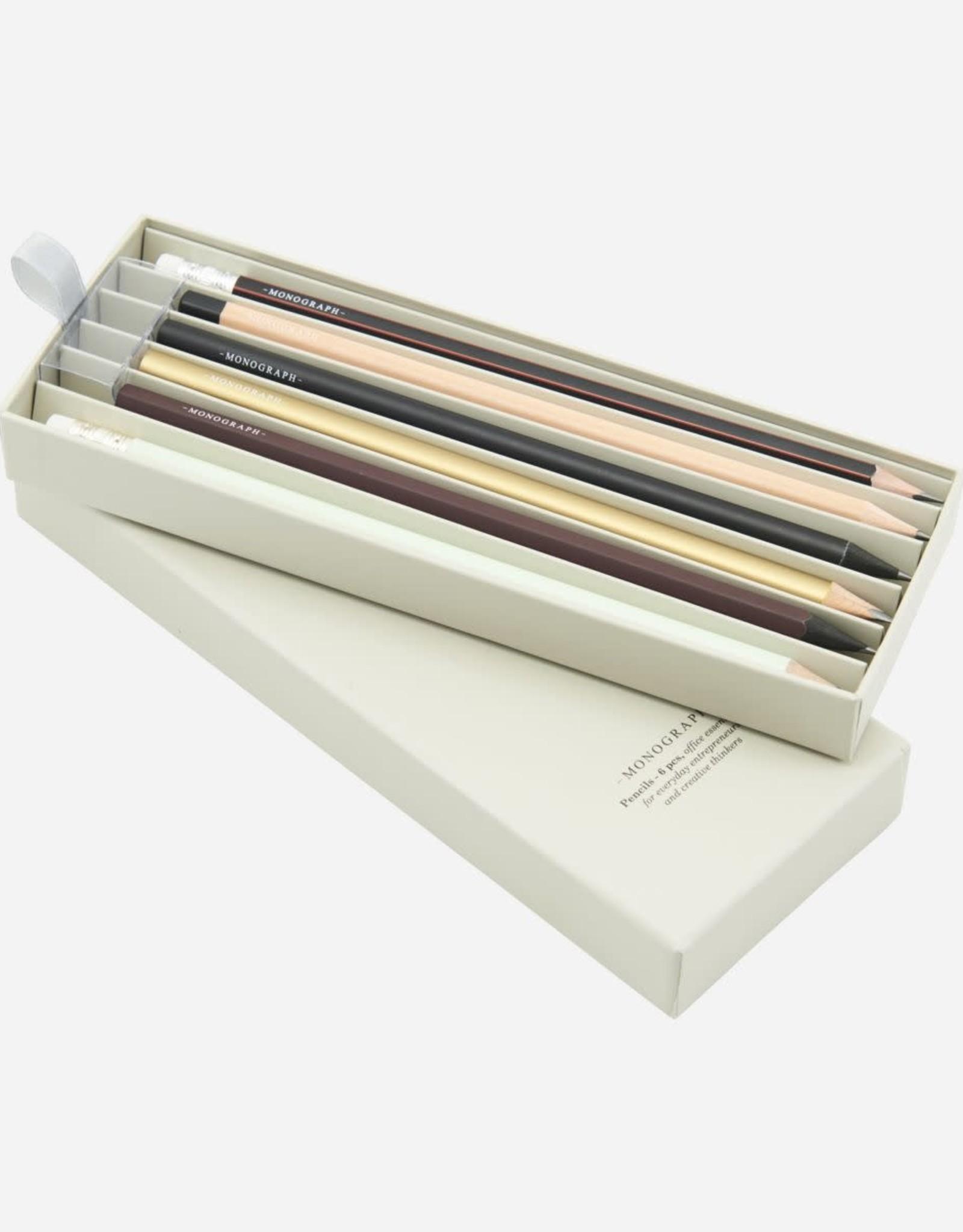 Monograph set potloden