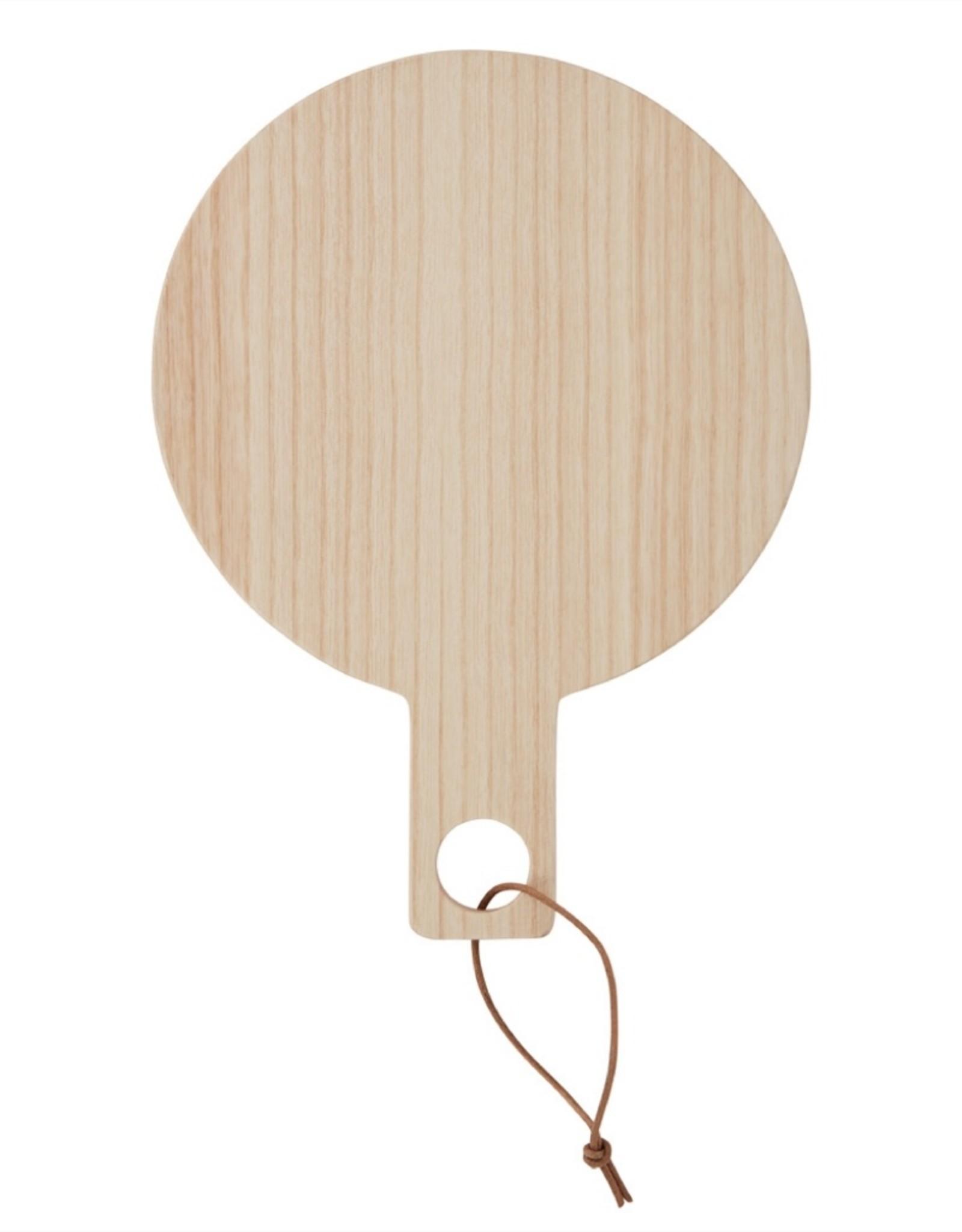OYOY Ping Pong Handspiegel - Essenhout Licht
